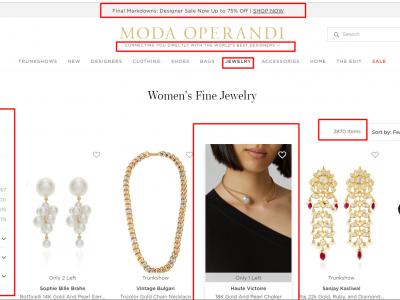 Jewellery Website Design Examples Every Store Must Model